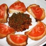 タケヤ食堂 - 料理写真:チリビーンズ&トマト ¥680