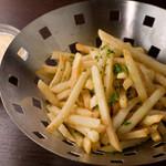 ブリュセレンシスカフェ - ヴィンツェ芋のベルジャンフリッツ
