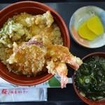 山桜 - 2014年3月29日 天丼750円