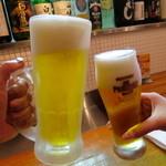 25584704 - トリビーで乾杯♪