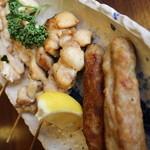 機山亭 - 料理写真:串焼き盛合わせ