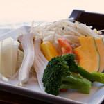 ガーデングリル - 焼き野菜の盛り合わせ