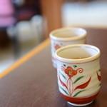 かなざわ石亭 - ほうじ茶