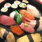 魚米 - 料理写真:にぎりBランチ¥1,000になってたかも?