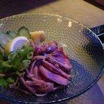 きじむなーの森 - ヤギ刺身。生肉大好きですから。
