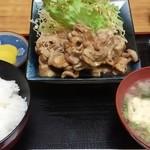 25591528 - 生姜焼き定食