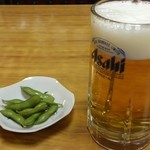 25591532 - 生ビール(枝豆つき)