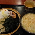 神成 - 料理写真:岩のりつけ麺