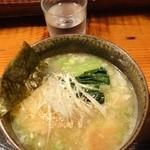 神成 - 鶏豚骨塩