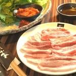 ぎょうてん - 料理写真:サムギョプサル