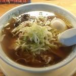 25594510 - 森商店@那須塩原 チャーシューメン・煮卵