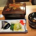 山尾 - 2014/3  竹重(肝吸い、お新香付)
