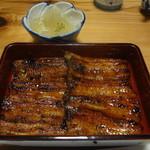 山尾 - 2014/3  鰻の蒲焼(3800円)
