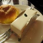 西洋菓子 しろたえ - レアチーズケーキ&シュークリーム1
