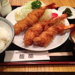 醍醐 - エビフライ定食