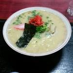 梨花 - とんこつラーメン 600円