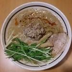 麺屋三郎 - 2014年4月最後の限定、玉子とじ担々麺(850円)