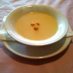 ステーキ 東洋館 - セットのスープ