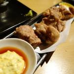 サカトリーナ - 若鶏の唐揚げ マスタードタルタル