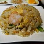 25598431 - 海老の葱塩炒飯セット 950円。