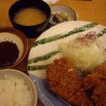 いなば 和幸 - OptioA30:日替わりカツ定食