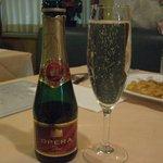 ビストロ ピンキオ - 特典のスパークリングワイン