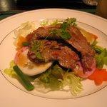 パローネ - 晩餐会メニュー☆仔牛のソテーと秋野菜のサラダ仕立て
