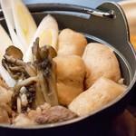 花膳 - 料理写真::山形名物『山形のいも煮』 1年中食べられます。