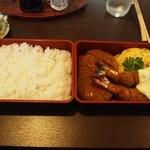 ニシモト - 特別洋食弁当は2段式