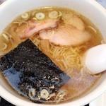 きさく - 料理写真:らーめん 五目チャーハン セット 2014年3月