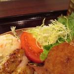洋食屋 カーネリアン - 週替わり定食 チキンステーキ(マヨネーズ焼)&ミンチカツ950円
