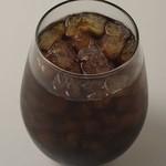 カカオサンパカ カフェ - アイスコーヒー