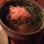土禾 ヒジカ - 小茄子の揚げ浸し