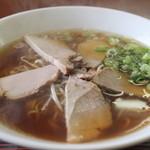 晩翠 - チャーシュー麺