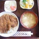 25609340 - ソースカツ丼 900円