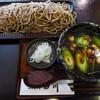 そばと膳 田川 - 料理写真:田川の田舎そば大盛り+鴨汁