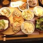 ひな野 - 13.03.30 初来店。和食のバイキングで、種類も味も想像以上でした! 〆のコーヒーもとっても美味しくいただきました。