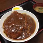 中華そば専門店 広松 - カツ丼