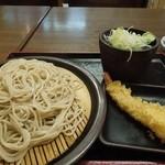 ゆで太郎 - もり260円えび天150円 H26.3