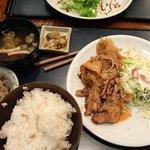 東北福祉大学 学食ふるさと - 料理写真:スタミナ焼肉定食