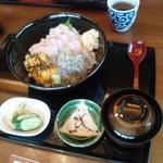 25620803 - 三色丼定食