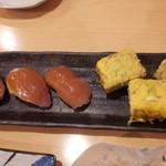 25624311 - 玉子焼きと寿司