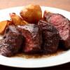 ビストロフェーヴ - 料理写真:牛ハラミのステーキ