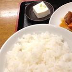 25626411 - サービス定食の酢豚(700円)2014年3月