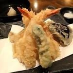 手打ち蕎麦 こたけ - 天ぷら盛り合わせ ¥700