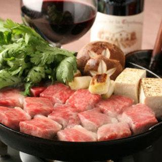 これぞ文明開化の味!今宵は牛鍋としゃれる。