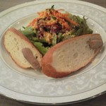 ビストロ グリーン - ビストロコース 前菜 鶏レバーのムース