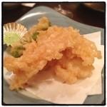 いろは寿司 - 筍の天ぷら。 うめー