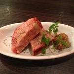 スペインバルエルソル - 茶美豚のパテ