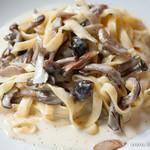 アクア ヴィーノ - 本日のパスタランチセット(タリアテッレ ゴルゴンゾーラチーズのクリームソース)【2013年10月】